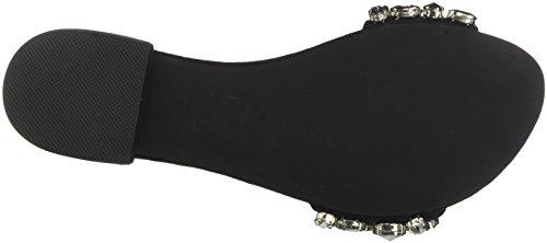 Campbell Van Jeffrey Damen 11-krista Jwl Peeptoe Sandalen Multicolore (suede Zwarte Heldere Multi 001)