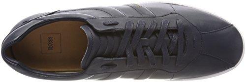 Homme BOSS Dark Rumba Bleu Basses Blue Tenn 401 ltpl Sneakers 7Xq7Bw