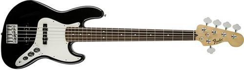 Fender 146603506 Standard Jazz Bass V String - Pau Ferro Fingerboard - Black by Fender
