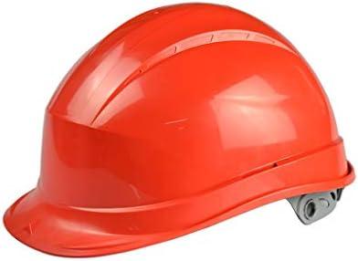 LCSHAN 調節可能なABSヘルメットの肥厚の工事現場の調査の慰め (Color : Red)