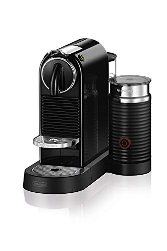 Nespresso CitiZ & Milk Espresso Machine by De'Longhi, Black (Renewed)