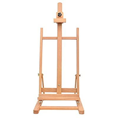 ZYY Folding Easel? Adult Wooden Folding Painting Sketch Sketching Easel Oil Painting Watercolor Easel Studio Large Desktop Easel Display Stand