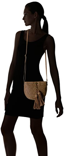 Cross Mirage amp; Cognac Shirt with Body Tassels Jeans Lace T qxUAawCRnC
