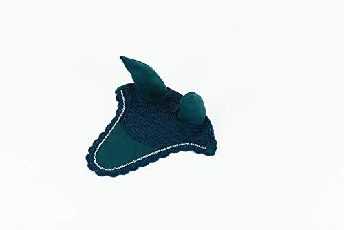 Lami-Cell Diamond Chain Fly Veil Full (Dark Turquoise)