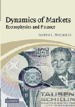 Dynamics of Markets: Econophysics and Finance