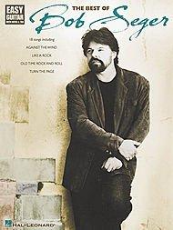- Hal Leonard The Best of Bob Seger Easy Guitar (Book)