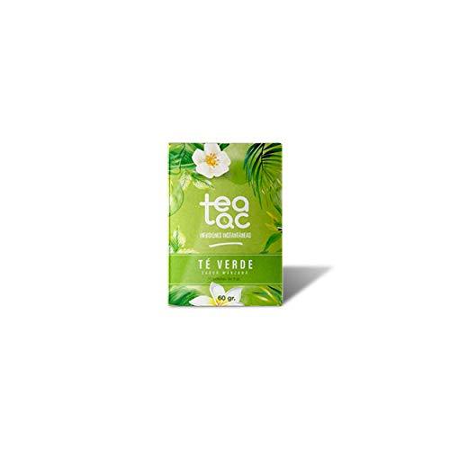 LA TETERA AZUL Te Verde Frio Sabor Manzana Infusion Fria En Polvo Tea Tac Caja Con 20 Sobres