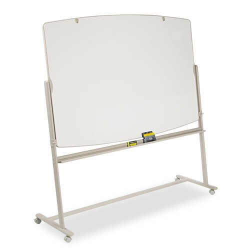 Reversible Mobile Presentation Easel, Dry-Erase, 72 x 48, White/Neutral by Quartet
