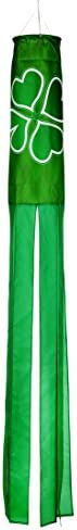"""60"""" Clover Column Windsock - Blows in the Wind By Trademark Innova"""