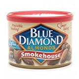 Blue Almonds Smokehouse 6 OZ (Pack of 24)