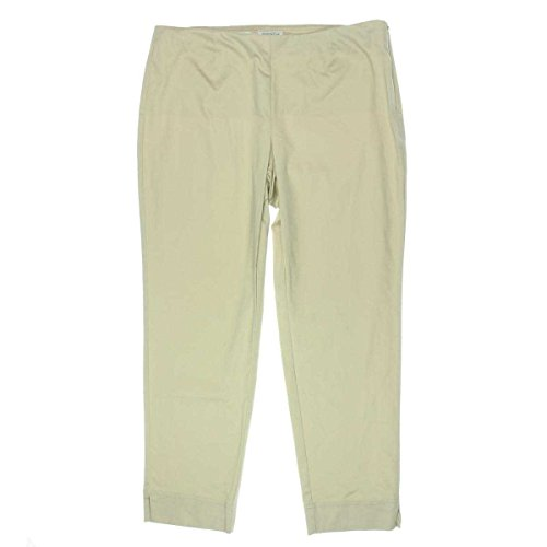 Charter Club Sateen Side-Zip Ankle Pants Sand 16