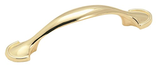- Amerock 173PB Allison Value 3 in (76 mm) Center-to-Center Polished Brass Cabinet Pull