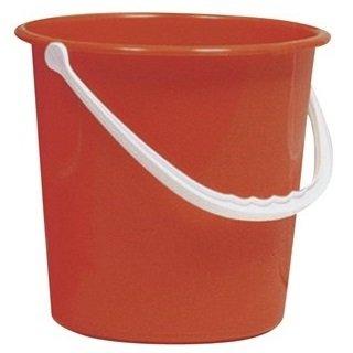 Round Bucket 10 Litre Red AUK