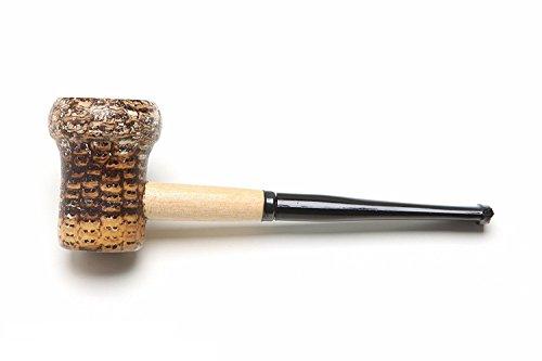 Missouri Meerschaum Patriot Corncob Tobacco Pipe Straight