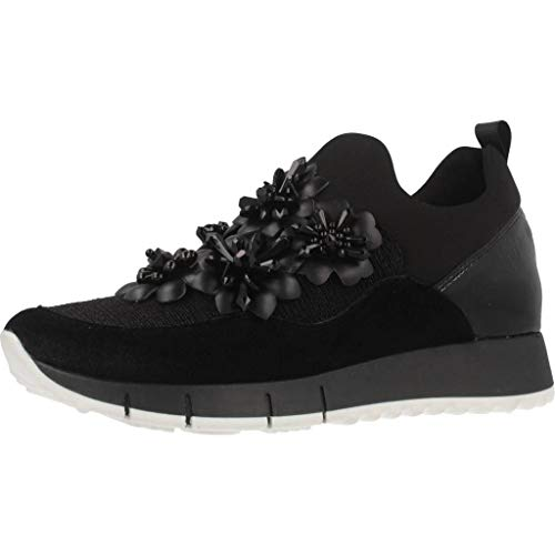 Sock 03 Elastic Jo Nere Leather Gigi Black New Liu Nuove Shoes Women's Sneakers Black XqRYx