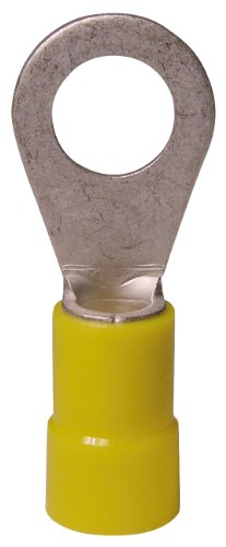 Gardner Bender 20-106 1 12-10 Gauge Yellow Ring Terminals, 14-Pack Ring Gauge Sizes