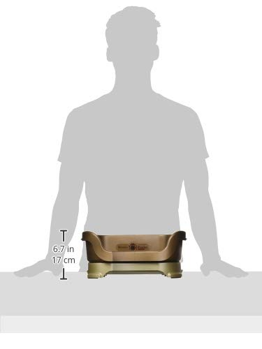 Neater Feeder Deluxe Cat (Bronze) - Mess Proof Elevated Bowls, No Tip Non Slip, Stainless Steel Cat Food and Water Dish Stand