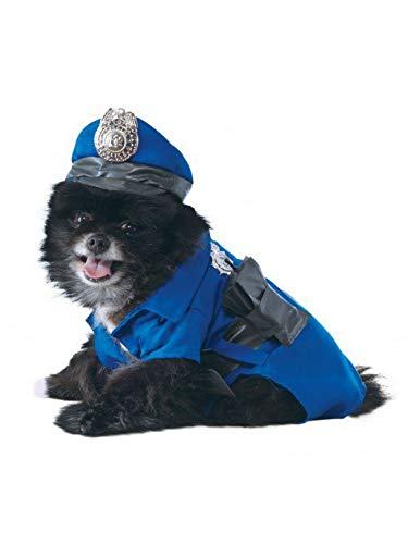 Rubie's Police Dog Pet Costume, Small -