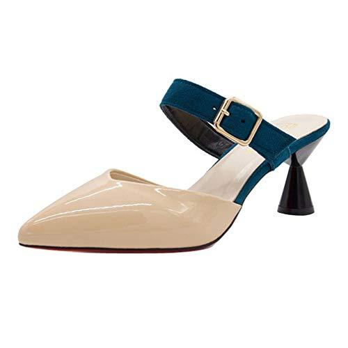 Pantoufles Chaussures Talons Hauts Boucles Femme Xin Cool YUCH wZxBX1dKqx