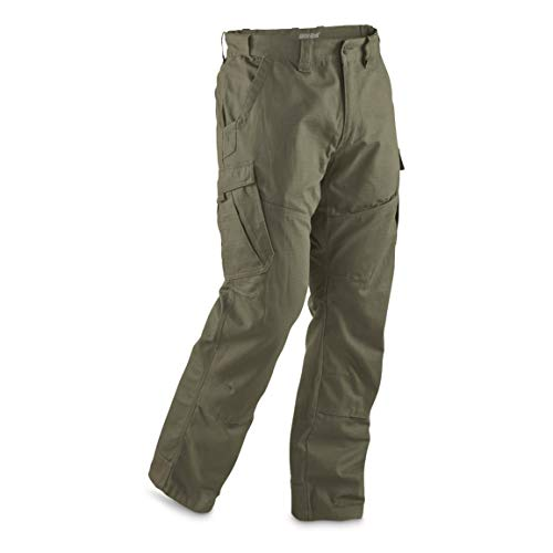 - Guide Gear Men's Ripstop Cargo Work Pants, Moss, W42 L30