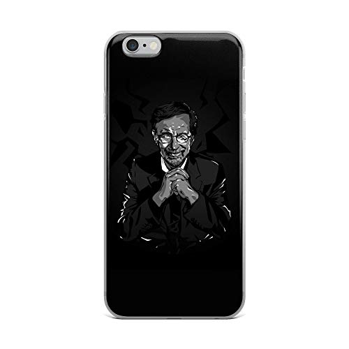iPhone 6 Plus/6s Plus Case Anti-Scratch Motion Picture Transparent Cases Cover Steven Spielberg Movies Video Film Crystal Clear