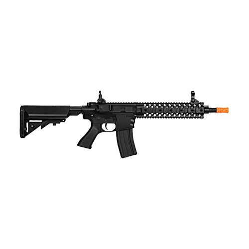 Lancer Tactical LT-12 Full Metal Gear with Free Float Rail Polymer Body Lt-12B
