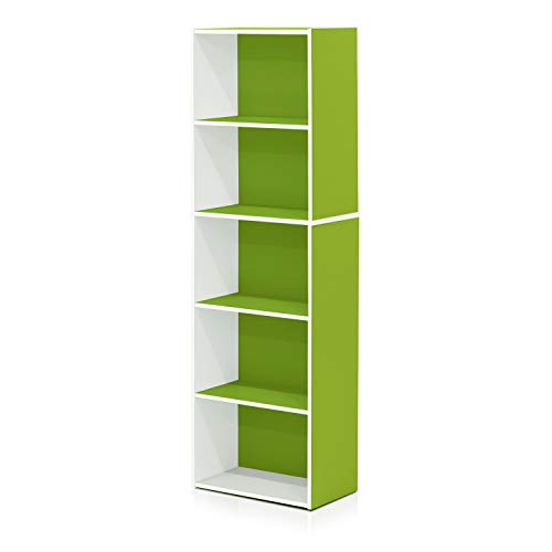 Amazon.com: Furinno 5-Tier Reversible Color Open Shelf