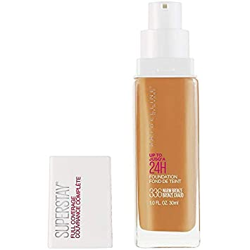 2dfc5a323c5 Maybelline New York Super Stay Full Coverage Liquid Foundation Makeup, Warm  Bronze, 1 Fluid