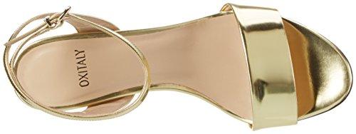 Oxitaly Oro Gold Soave 18 Sandalen Damen 7wX8Arq7
