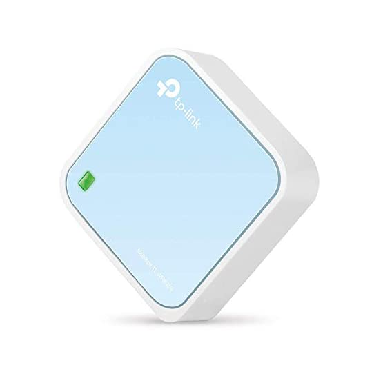 TP-Link Wireless N300 Travel Router, Nano Size, Router/AP/Client/Bridge/Repeater Modes, 300Mbps, USB Powered (TL-WR802N) 31zptAbcUzL. SS555