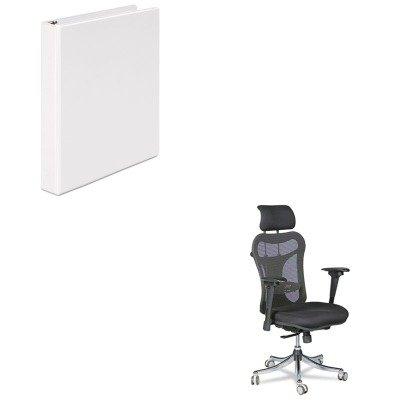 KITBLT34434UNV20962 - Value Kit - Balt Ergo Ex Executive Office Chair (BLT34434) and Universal Round Ring Economy Vinyl View Binder (UNV20962)