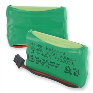 3.6 800 mAh Cordless Phone Battery for Uniden TRU-8885-2, Office Central