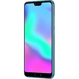 "Honor 10 Smartphone, 4G LTE, 64GB di memoria, 4GB RAM, Kirin 970 octa-core con GPU Turbo, Display 5.8"" FHD+ (1080 x 2160), Doppia Fotocamera 24+16MP, Blu [Italia] 1 spesavip"