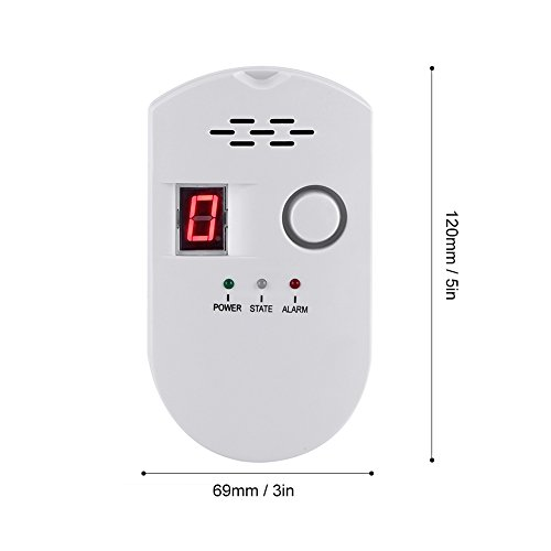 Yosoo Gas Leakage Detector Family Safety Alarm for US Plug by Yosoo (Image #3)