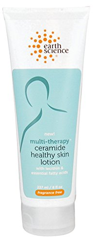 Earth Science - Multi-Therapy Ceramide Healthy Skin Lotion Fragrance Free - 8 oz. (Multi Therapy)