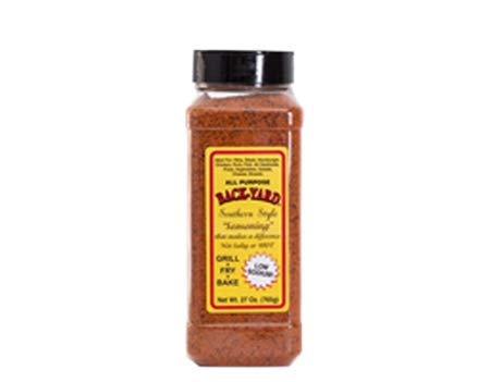 #1 All Purpose Seasoning | BACK-YARD Southern Style Original 27 oz | Value Size | Easy and Delicious | Sprinkle on Steak Seasoning, Poultry Seasoning, Fish Seasoning, Vegetable Seasoning | Low Sodium