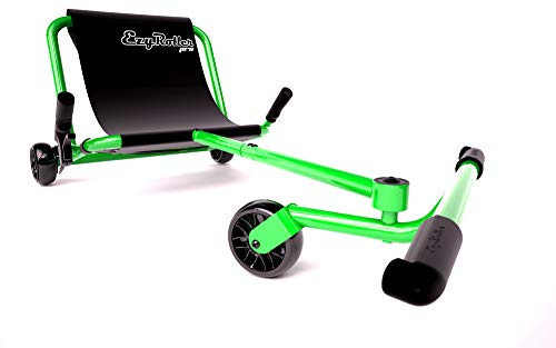 Ezyroller Pro - Lime Green - Ride On for Children and Adults Ages 10+ Years Old - New Twist on Scooter - Kids Move Using Right-Left Leg Movements to Push Foot Bar - Fun Play and Exercise