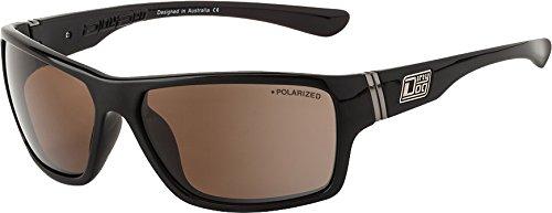 2e091bb505 Dirty Dog 53347 CPOL Dark Brown Storm Wrap Sunglasses Polarised Lens  Category 3  Amazon.co.uk  Garden   Outdoors