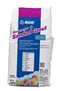 MAPEI Keracolor S Sanded Powder Grout - 10LB/Bag - Premium Superior (10 Black) ()