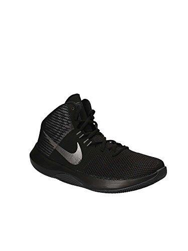 Nike Heren Air Precision Basketbalschoen Zwart / Grijs-m