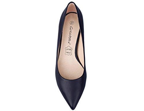 Femmes Talons Nouveau Eu Noir Suedes Pu Classics 36 Espigones Chaussures À Greatonu 41 O1qxwaE0