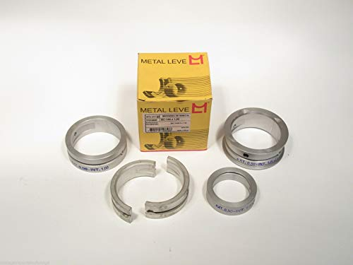 EPC Main Bearing Set Fits VW Beetle Squareback GHIA & Transporter BC-144-J-1.00mm ()