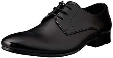 Windsor Smith Men's BAXXTER Dress Shoe, Black, 10 AU