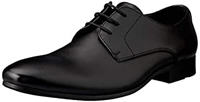 Windsor Smith Men's BAXXTER Dress Shoe, Black, 10 AU