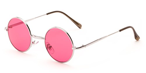 sunglass-warehouse-dune-2426-silver-frame-with-dark-pink-lenses-unisex-round-sunglasses