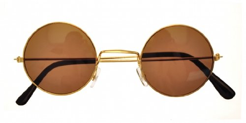 Gold John Lennon Sunglasses - John Costume Dress Lennon Fancy
