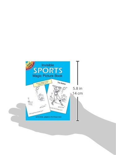 Invisible Sports Magic Picture Book (Dover Little Activity Books)