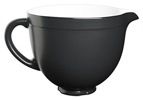 KitchenAid KSMCB5BM 5-Qt. Tilt-Head Ceramic Bowl - Black Matte