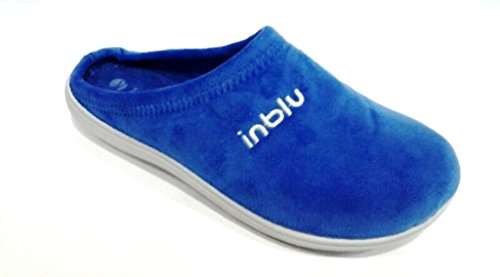 INBLU , Chaussons pour fille Bleu denim 33