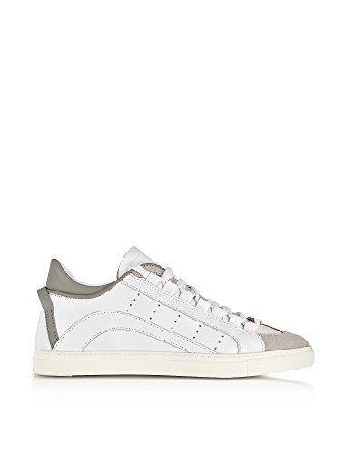 Dsquared2 Herren Snm0006141400011062 Weiss Leder Sneakers